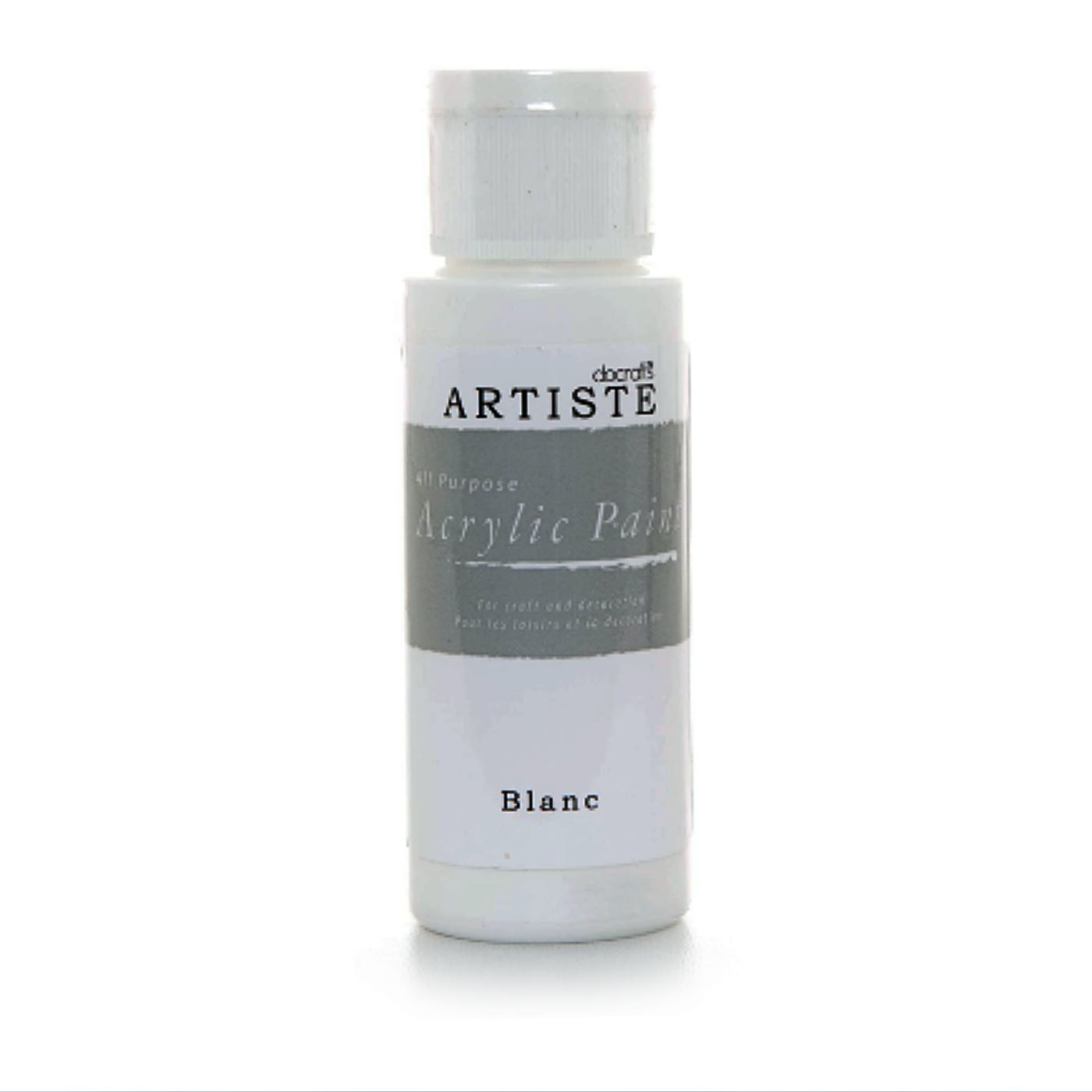 Acrylic Paint, all-purpose, Pendle Valley Workshop, UK White, PC001,