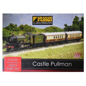 Castle Pullman Digital Sound Train Set (R370-160), N Guage, scale, Pendle Valley Workshop, UK