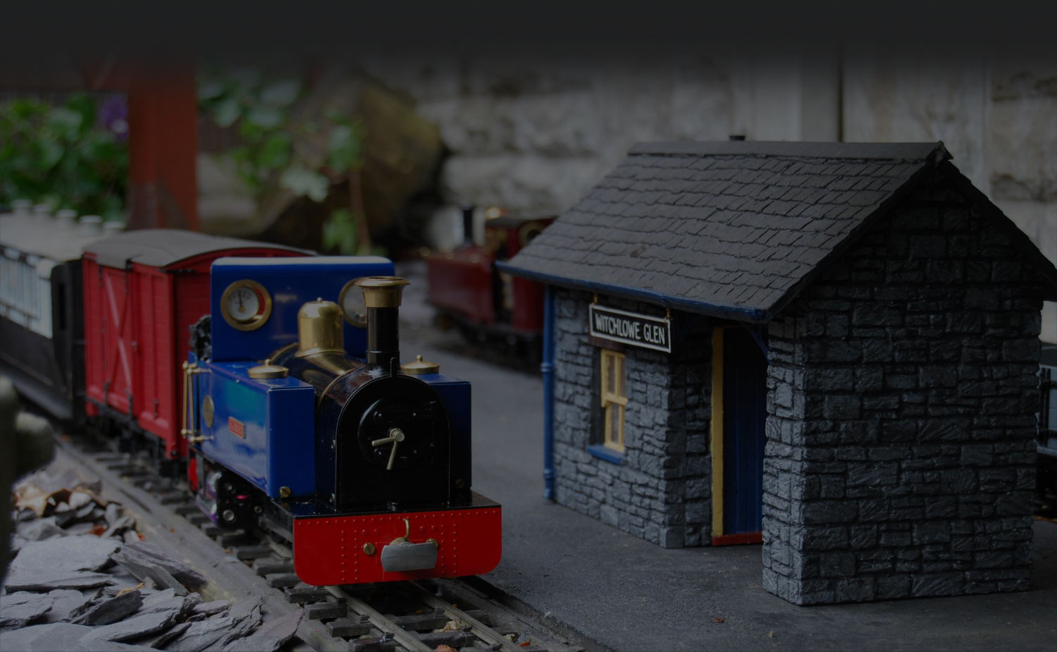 SHOP, Garden Model Railway Building Kits, Pendle Valley Workshop, UK